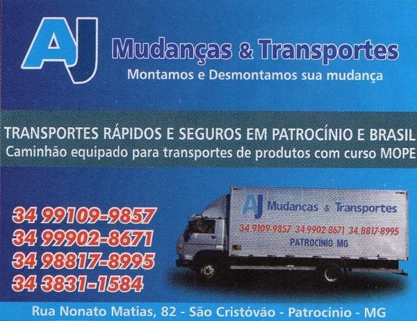 7dd807852b AJ MUDANÇAS E TRANSPORTES EM PATROCÍNIO